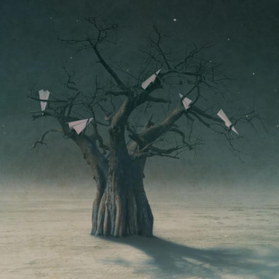 Paper kite tree